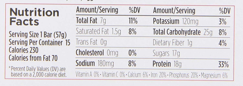 PureFit Peanut Butter Chocolate Chip Premium Nutrition Bars, 15 Count | 18G Protein, Performance Enhancement & Energy Bar - Gluten Free, Dairy Free, Low Carb, Vegan