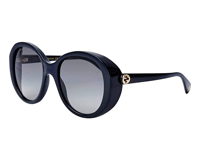 bf9fc3e6d1 Gucci GG0368S 001 Black GG0368S Square Sunglasses Lens Category 2 Size  56mm  Amazon.co.uk  Clothing
