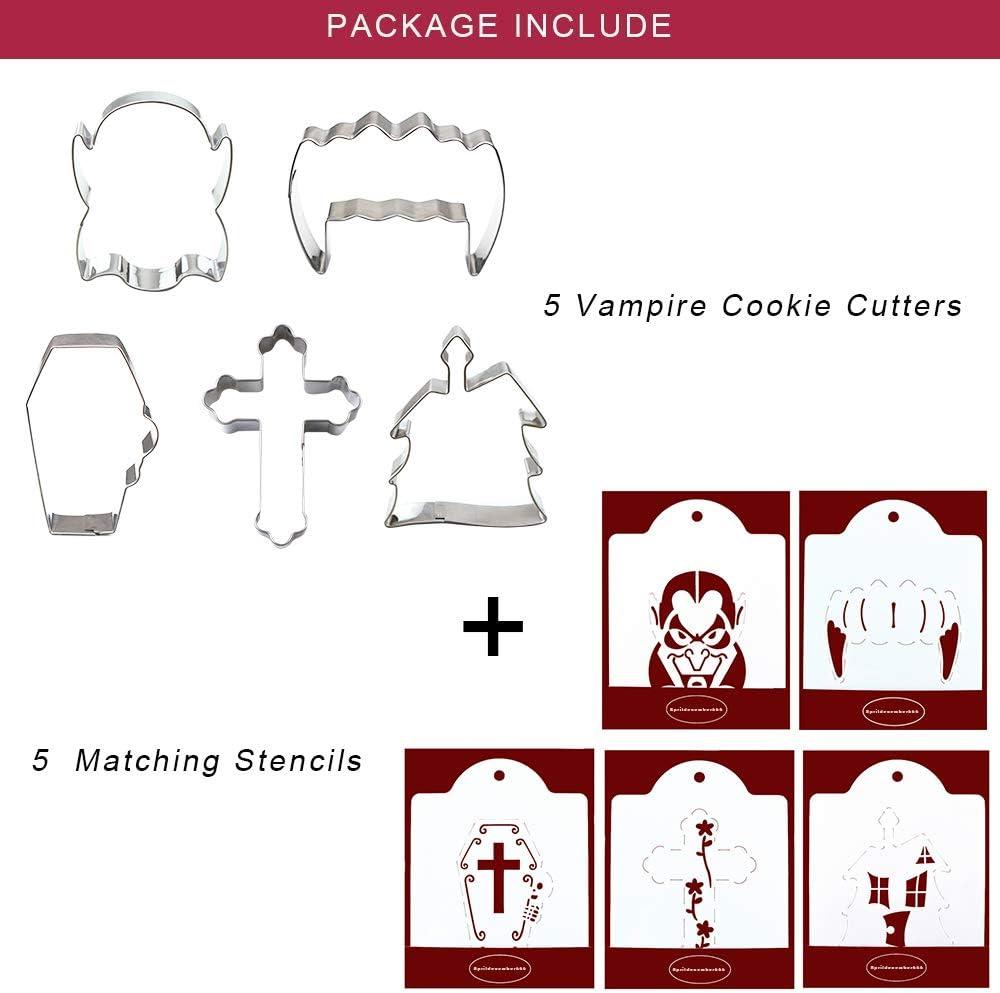 Vampire Cookie CutterMulti-Size