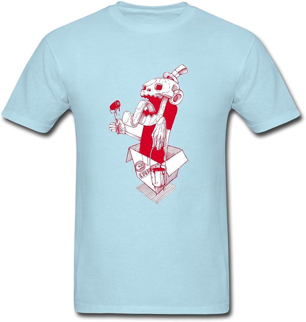 Aquila Ron una horrible zombie daubed con rojo pintura Vogue ...