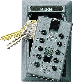 Kidde KeySafe 5-Key Push Button Combination Permanent Key Lock Box