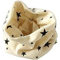 Pañuelo de cuello para niños, braga de cuello de algodón, bufanda para otoño e invierno