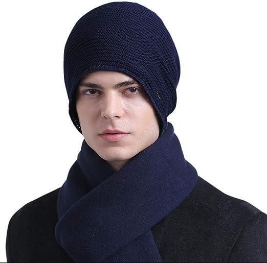 ASDF Terciopelo de algodón Moda otoño/Invierno Punto Hombre con ...