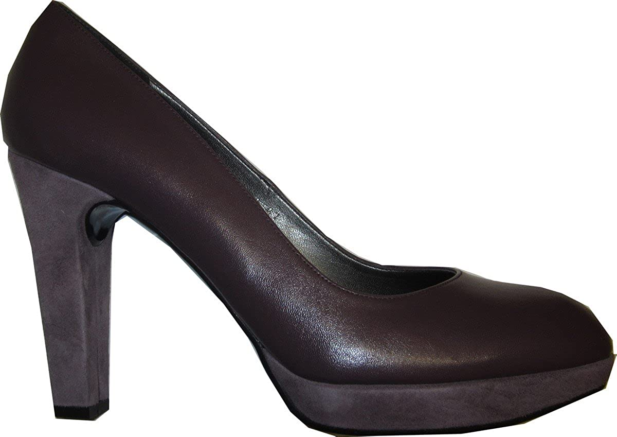 ee74864f0fb6d7 Madan Pumps High Heels Leder - Farbe Beere  Amazon.de  Schuhe   Handtaschen