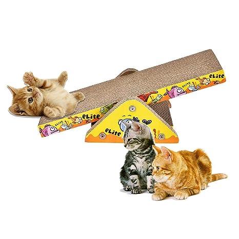 Kbsin212 - Rascador para Gatos con Alfombrilla para Gatos y Gatos, diseño de Gato