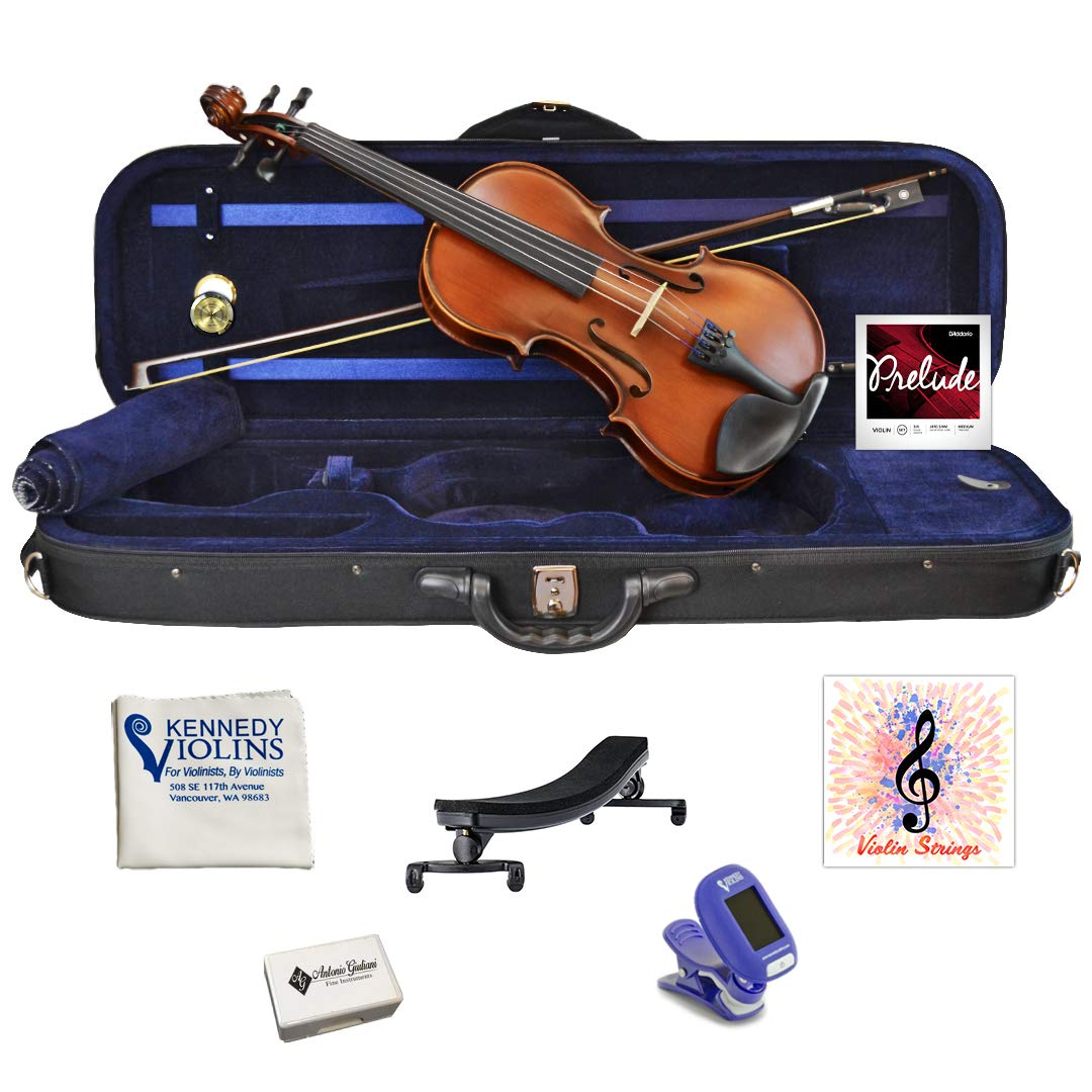 Antonio Giuliani Etude Clearance Violin Outfit 3/4 Size AG360 by Kennedy Violins