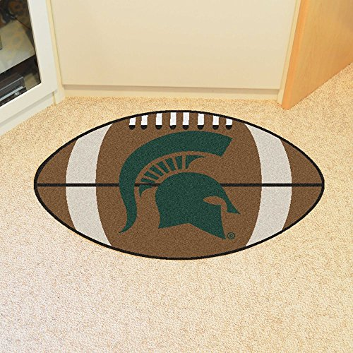 Fanmats Home Indoor Sports Team Logo Michigan State Football Rug 22