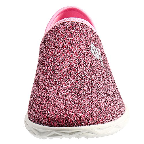 ALEADER Sport Womens Hydro Slip-On Mule Sneaker Pink 9 D(M) US