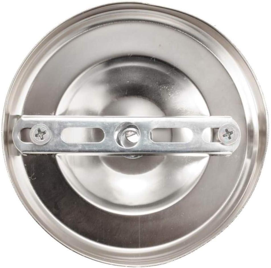 Avorio LQCN Lampada da lampadario a Sospensione Circolare Vintage con Gancio Circolare a soffitto