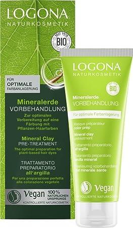 logona Natural cosmético Mineral Tierra pretratamiento Vegano, 100 ml