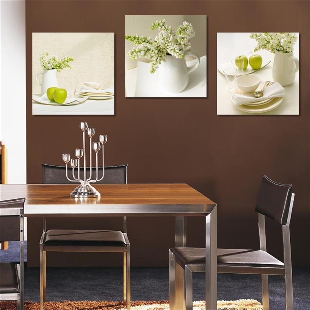 Zita and zetan 50502 5cmrestaurant decorative painting modern simple wukuang painting dining room murals painting living room triple painting