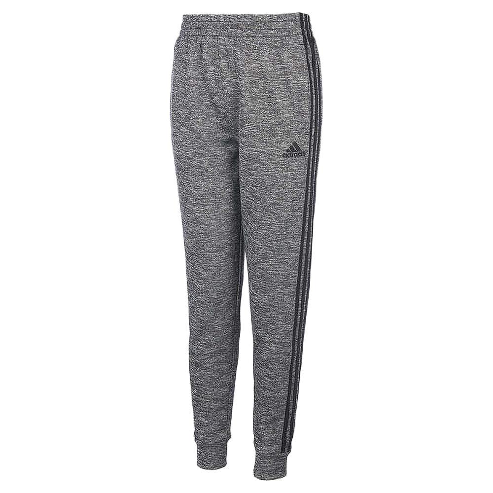 adidas Boys Tech Fleece Pant Dark Heather//Black 18//20 X-Large