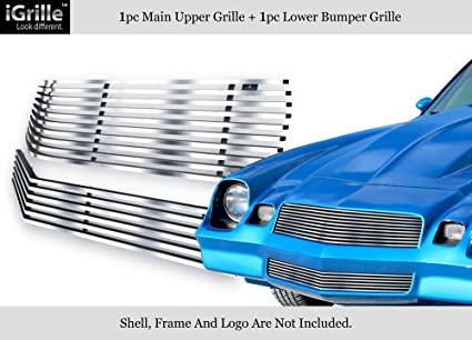 APS 304 Stainless Steel Billet Grille Combo Fits 78-81 Chevy Camaro  #N19-C43018C