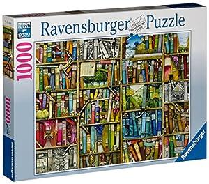 Ravensburger 19137 - Colin Thompson: Magisches Bücherregal - 1000 Teile Puzzle