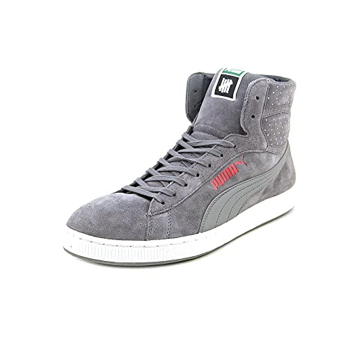 low priced 6ee38 69453 PUMA New Mens RS X Undefeated Hi Sneakers Shoes Grey
