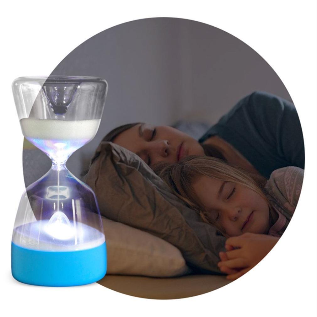 OMEet砂時計Night Light with 7色変更、ロマンチックベッドサイドランプ、15分減光Sleepingアシスタントナイランプ砂時計タイマー夜light-bedroomデコレーションウェディングクリスマス誕生日 B07BPV7VZ6