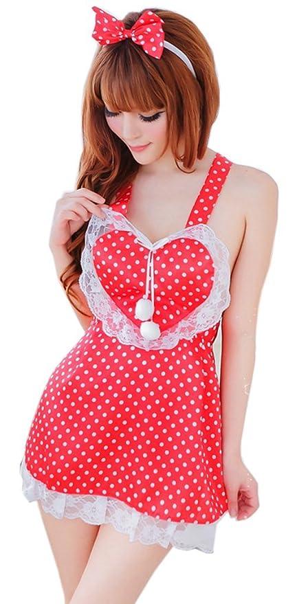 Silvia s Wand (R) Sexy Lencería francés Maid Servant delantal disfraz infantil de