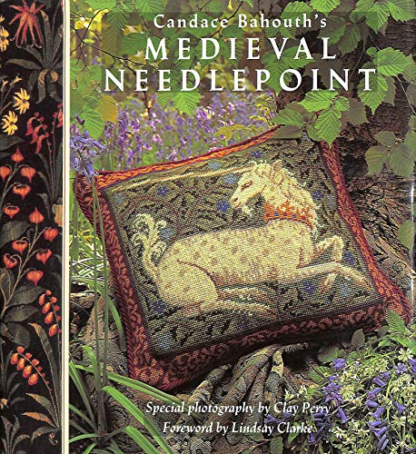 Wool Needlepoint Cover - Candace Bahouth's Medieval Needlepoint