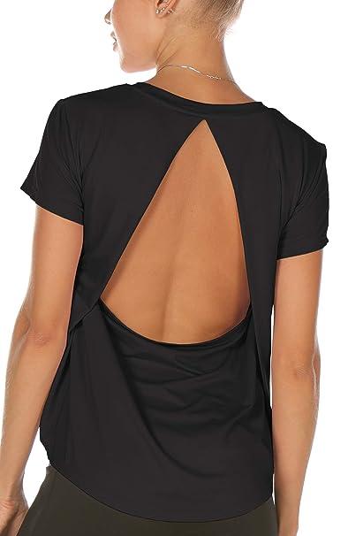 Amazon.com: Melpoint Camisas de entrenamiento para mujer ...