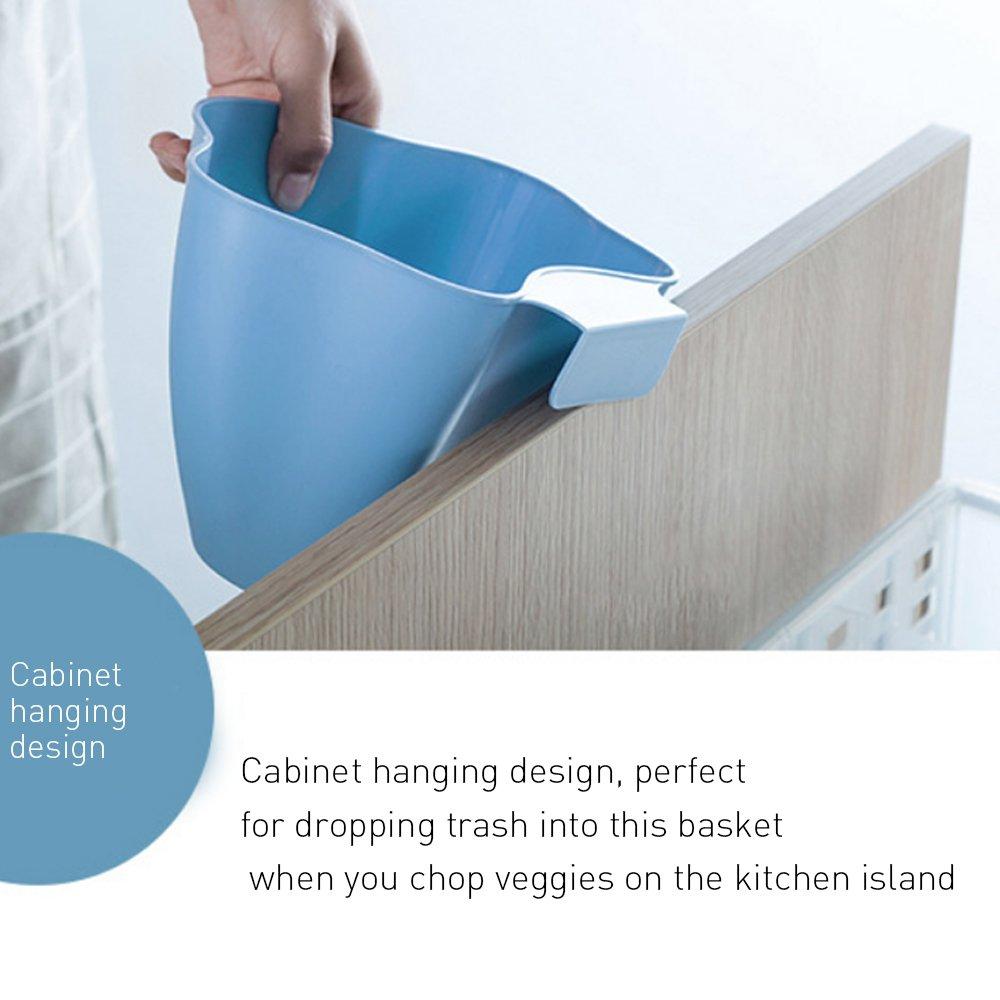 Amazon.com: Yummy Sam Cabinet Hanging Organizer, Set of 2 Plastic ...