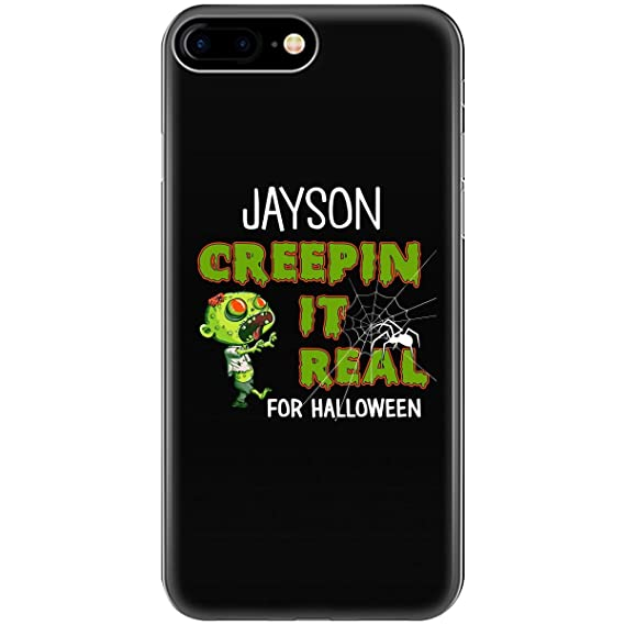 jayson creepin it real funny halloween costume gift phone case fits iphone 6 6s 7