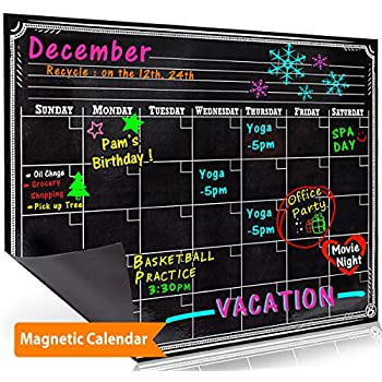 Amazoncom Bigtime Weekly Family Calendar Planner Day - Black dry erase calendar