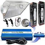 Yield Lab 1000w HPS+MH Cool Hood Reflector Grow Light Kit