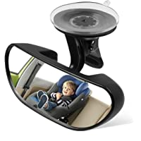 Ideapro Baby Car Backseat Mirror, Rear View Facing Back Seat Mirror Child Safety Rearview Adjustable Forward Baby Mirror for Infant