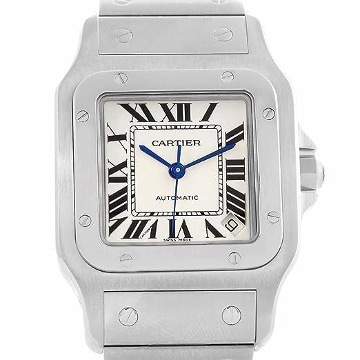 Cartier Santos Galbee W20098D6 - Reloj automático para Hombre (Certificado de autenticidad)