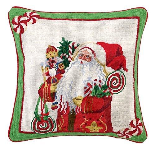 Lolly Jolly Santa Christmas Needlepoint
