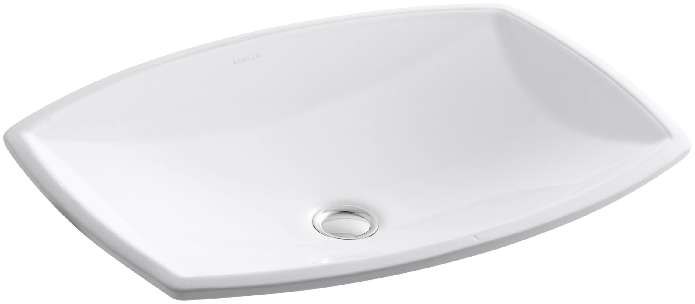 KOHLER K-2382-0 Kelston Undercounter Bathroom Sink, White by Kohler