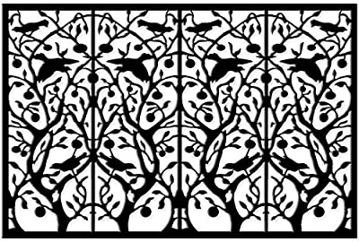 Acurio Lattice Tree of Life Outdoor Decor Panel Screen