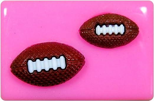 Balones de rugby / Fútbol Americano Molde de silicona para la ...