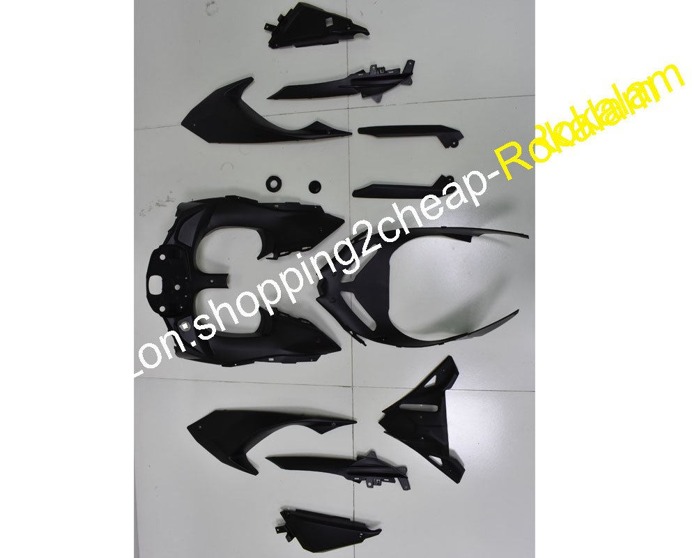 Body Fairing Kit For Kawasaki Ninja 650R ER 6F 2017 2018 ER-6F 17 18 ER6F 650 Black Gray Bodyworks ABS Fairings Injection molding