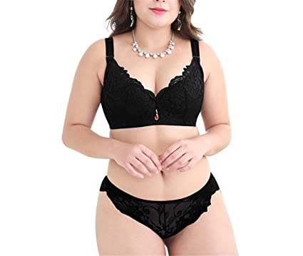 d2f083cc25931 Caseminsto Push Up Lace Bra Set For Women Plus Size Bra And Panties Set Sexy  Lingerie