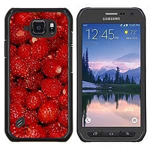 For Samsung Galaxy S6Active Active G890A Case , Naturaleza Hermosa Forrest Verde 41- Diseño Patrón Teléfono Caso Cubierta Case Bumper Duro Protección Case Cover Funda