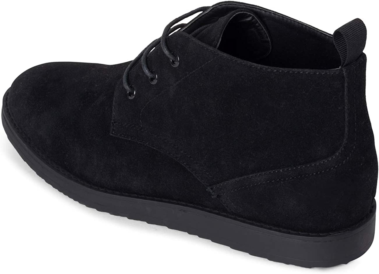 Mens Queensberry Harley Chukka Work Office Formal Casual Desert Boots