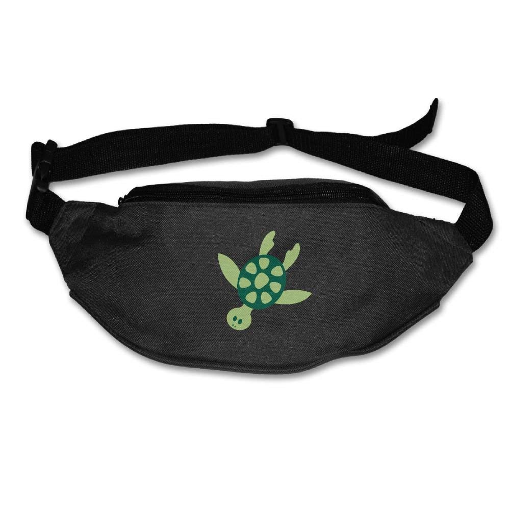 Heard Me Unisex Hawaiian Sea Turtle Fanny Pack Waist Bag Phone
