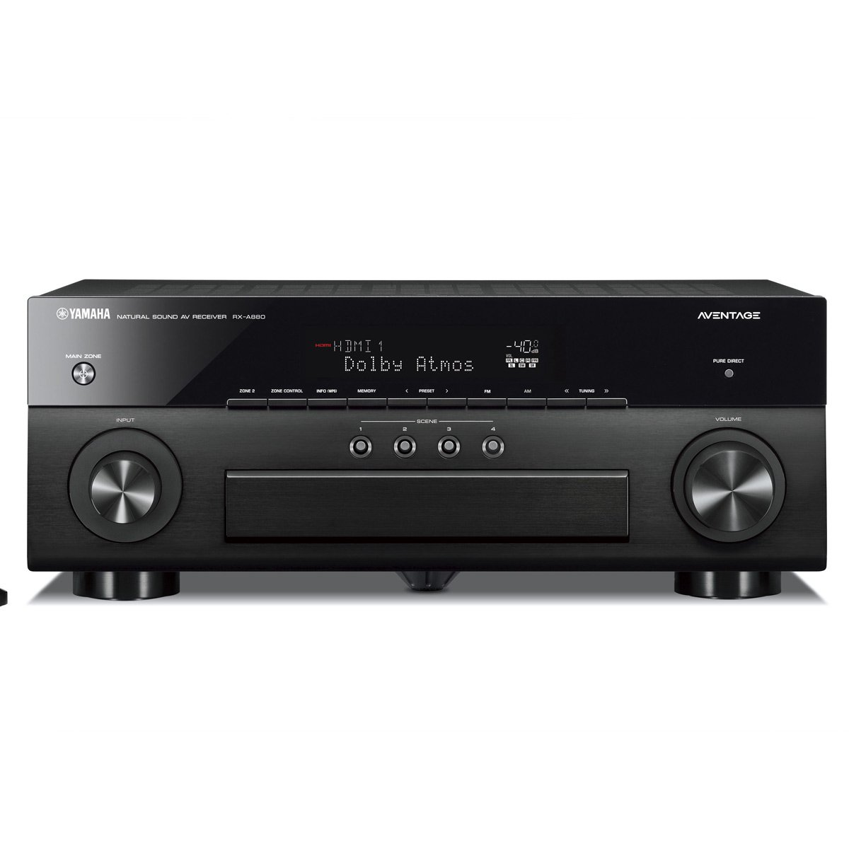 Yamaha RX-A880 Premium Audio & Video Component Receiver - Black by Yamaha Audio (Image #1)