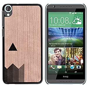 - / Pencil Art Architect Paint Artist - - Funda Delgada Cubierta Case Cover de Madera / FOR HTC Desire 820 D820 d820t / Jordan Colourful Shop/