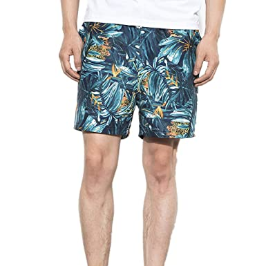 54893cced3b5 Men s Swimwear Breathable Floral Print Beach Shorts Trunks Board Pants  Under 10 Dollar Plus Size.