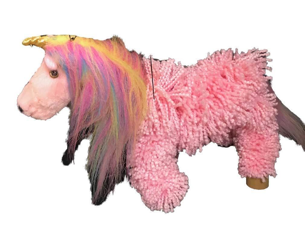 Pink Yarn Unicorn Marionette Puppet | MUN16-4 | STYLES VARY 3