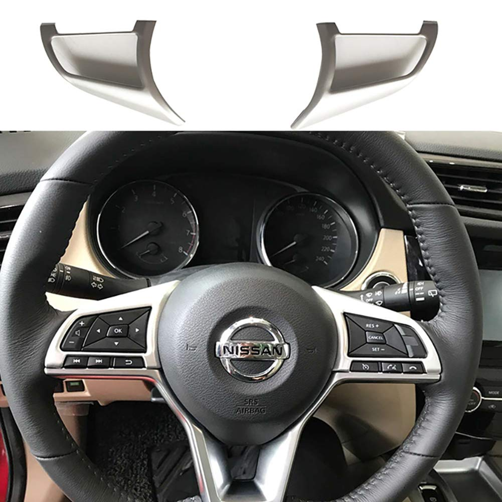 PinShang Accessori per Auto per Nissan X-Trail Rogue 2017-2019 2 Pezzi