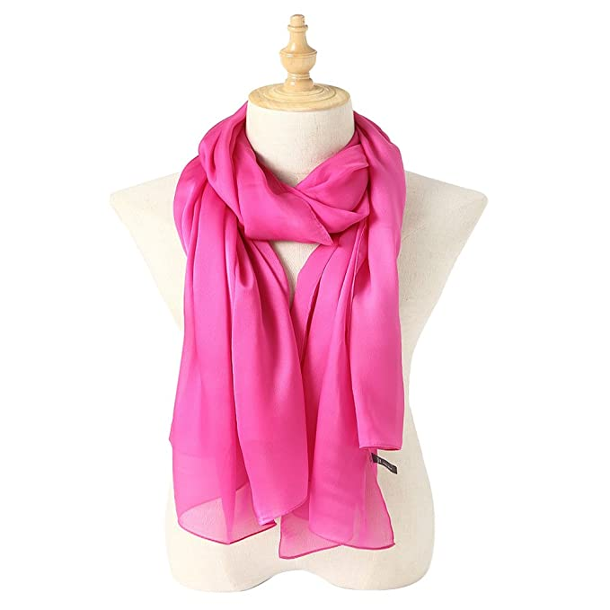 100% SILK LONG SHAWL SCARF NOW ONLY $15.99! (33 COLORS)