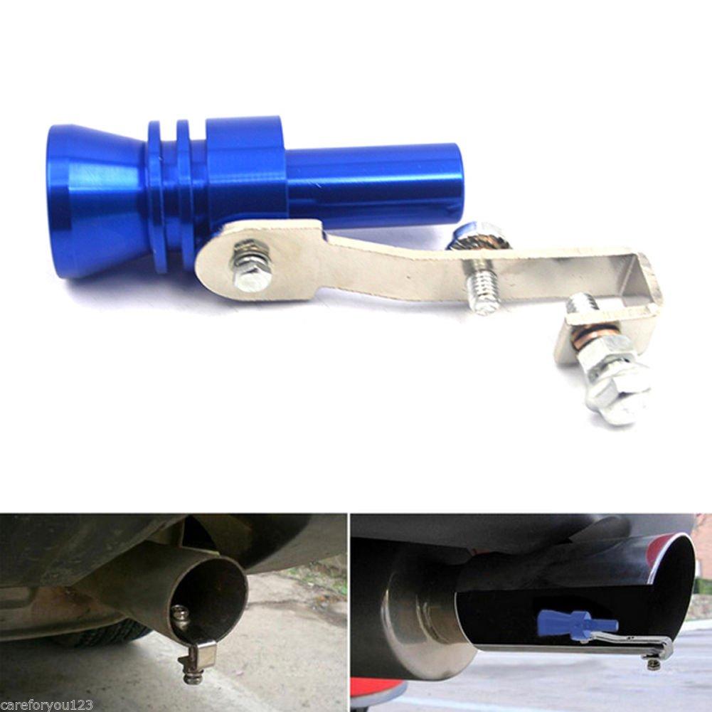 simulador XL Silbato de sonido turbo para coche tubo de escape silenciador v/álvula de apagado autom/ático