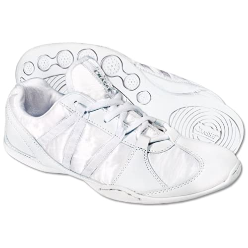 1c9ae2fa893bdc These Chassé Girls Ace Cheerleading shoes are lightweight and compare  favorably with similar shoes though they are less expensive.