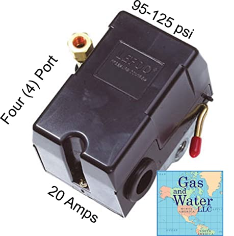 61%2B2gseQEaL._SY463_ universal pressure switch 95 125 psi for air compressor 4 port furnas pressure switch diagram at gsmx.co