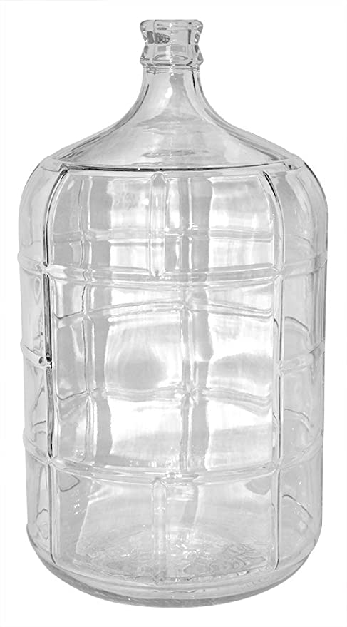 Amazon Com 5 Gallon Glass Carboy Industrial Scientific
