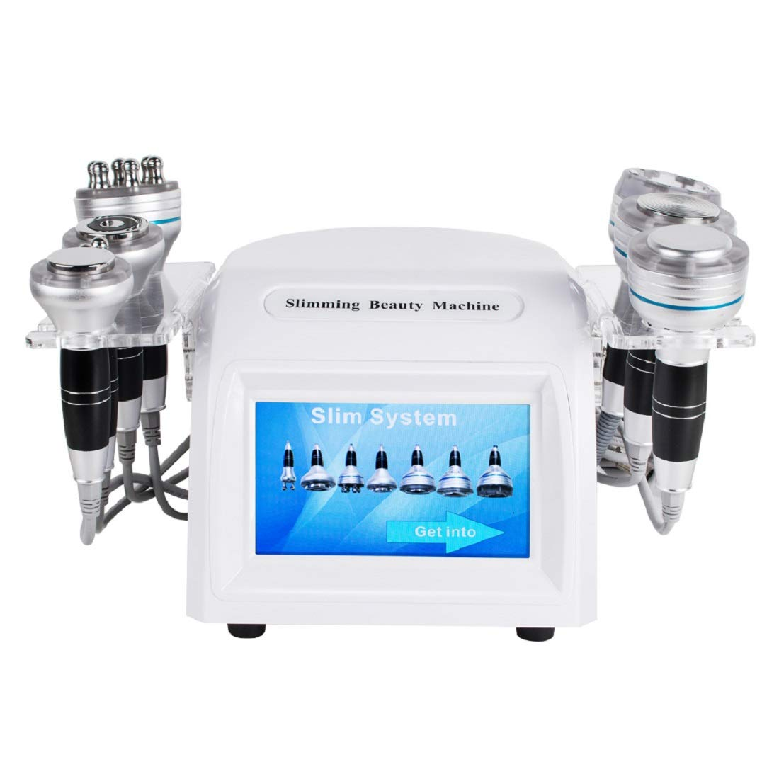 7 in 1 Body Slimming Vacuum Machine, Face Tighten Facial Lifting Skin Massager Anti-wrinkle Body Shaping Skin Rejuvenation Treatment for Home Salon Use 110V