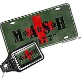 BrotherhoodProducts MASH Mash 4077 TV Show Aluminum License Plate